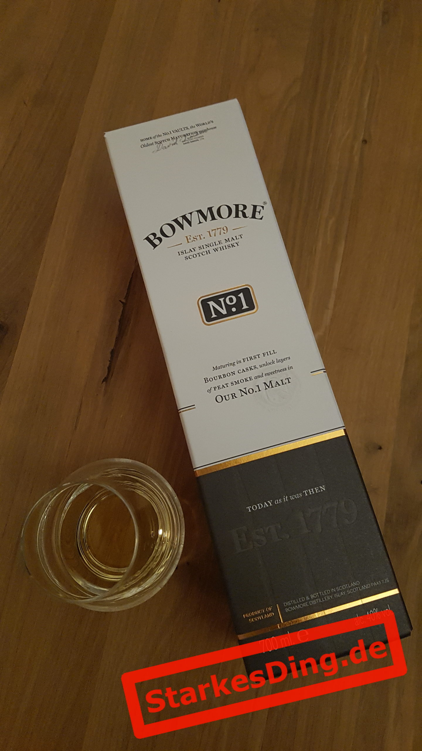 Bowmore Single Malt Whisky No.1