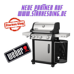 Weber Grill – neuer Partner