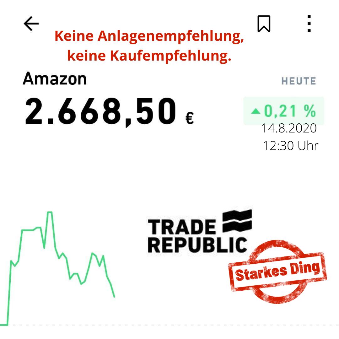 Trade Republic – mein Onlinebroker