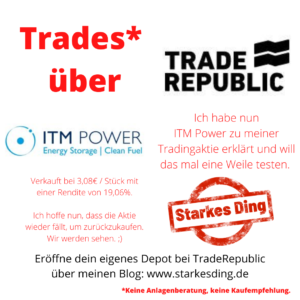 Trade Republic – ITM Power