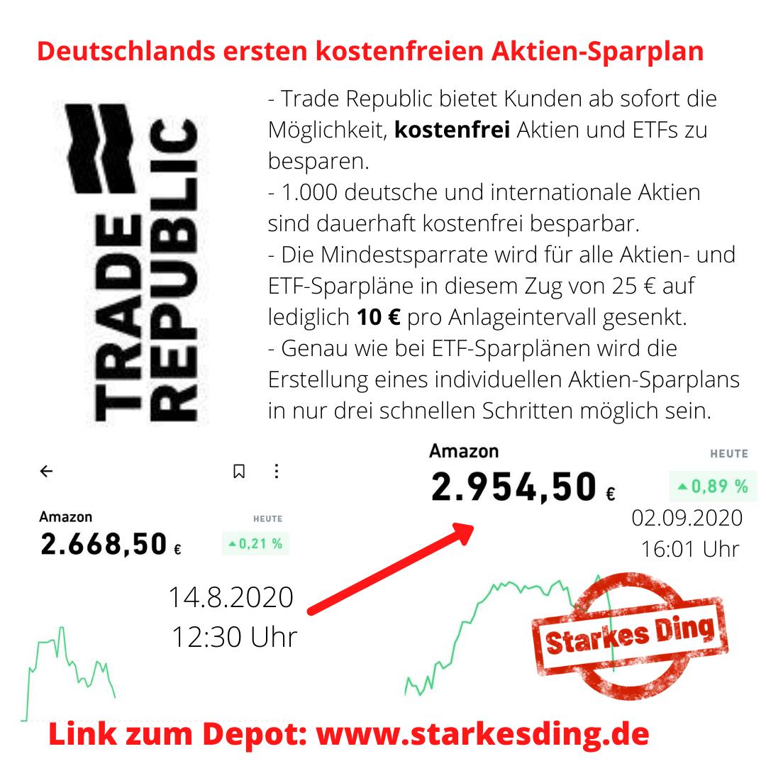 Read more about the article Traderepublic nun mit kostenfreien Aktiensparplänen