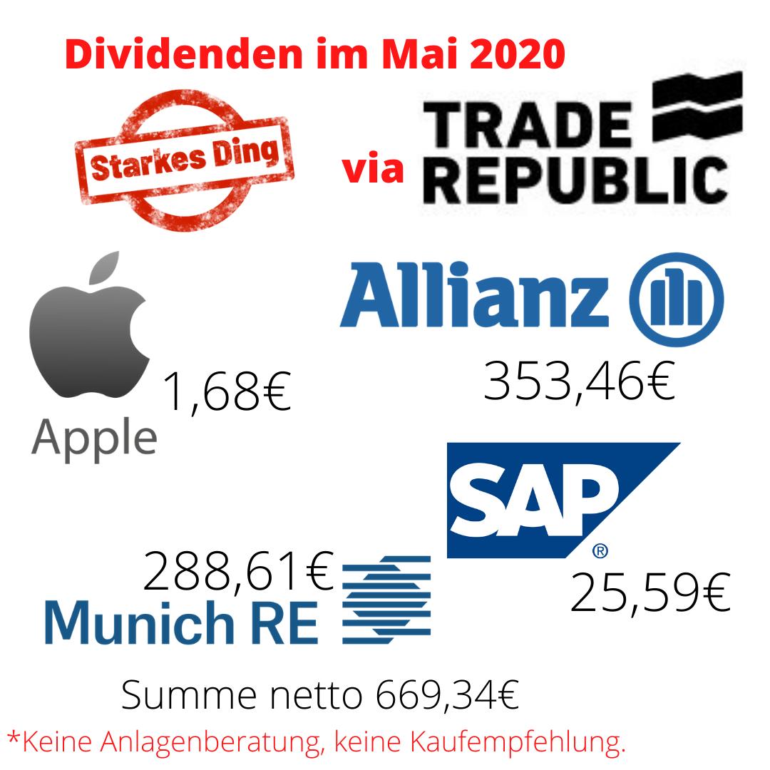 Read more about the article Meine Dividenden seit März