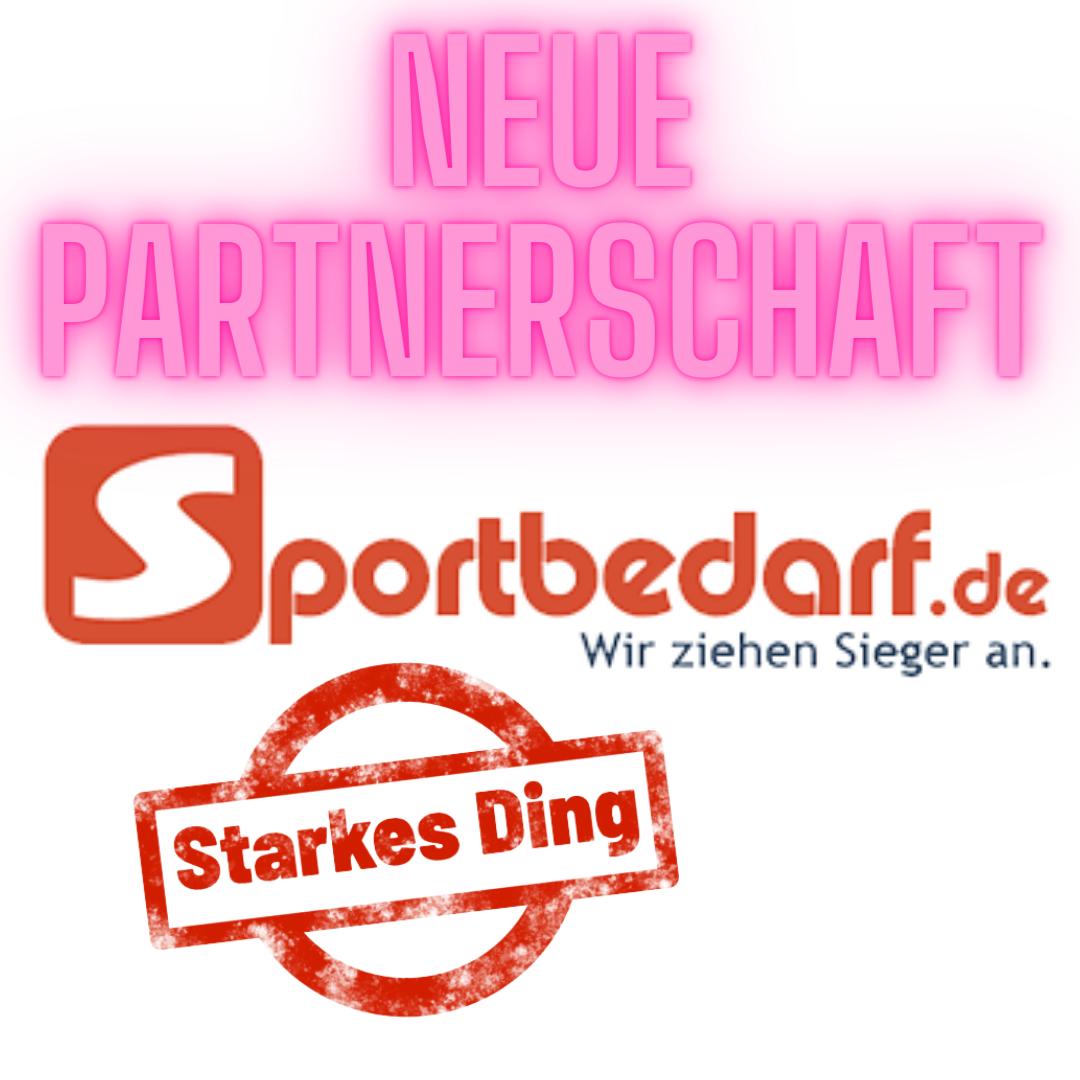 Neuer Partner – Sportbedarf