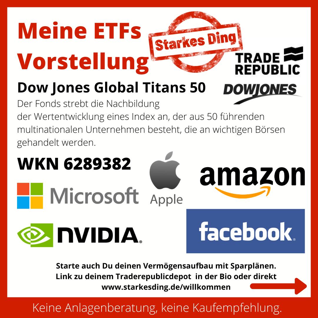 Meine ETFs – Dow Jones Global Titans