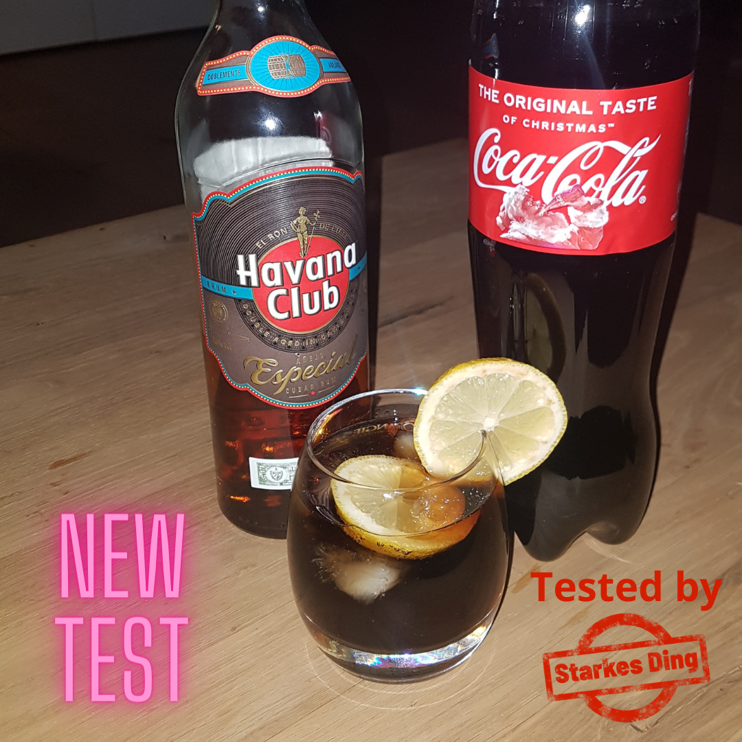 Havana Club mit Cola on Ice