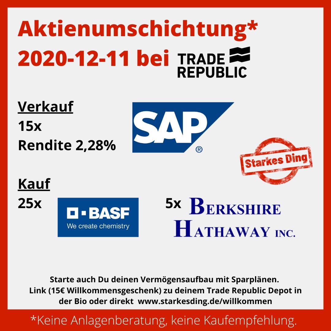 Aktienumschichtung 2020-12-11