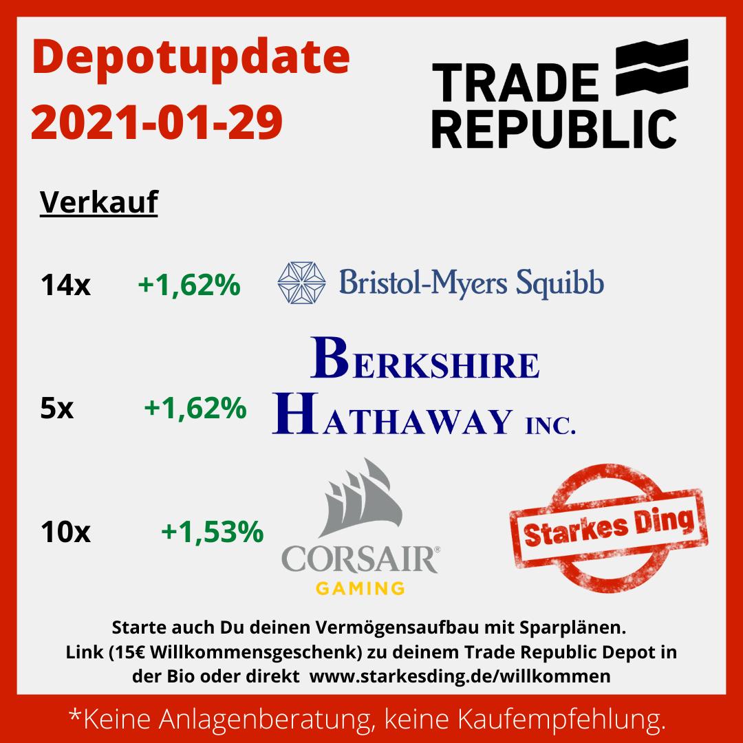 Depotupdate 2021-01-29
