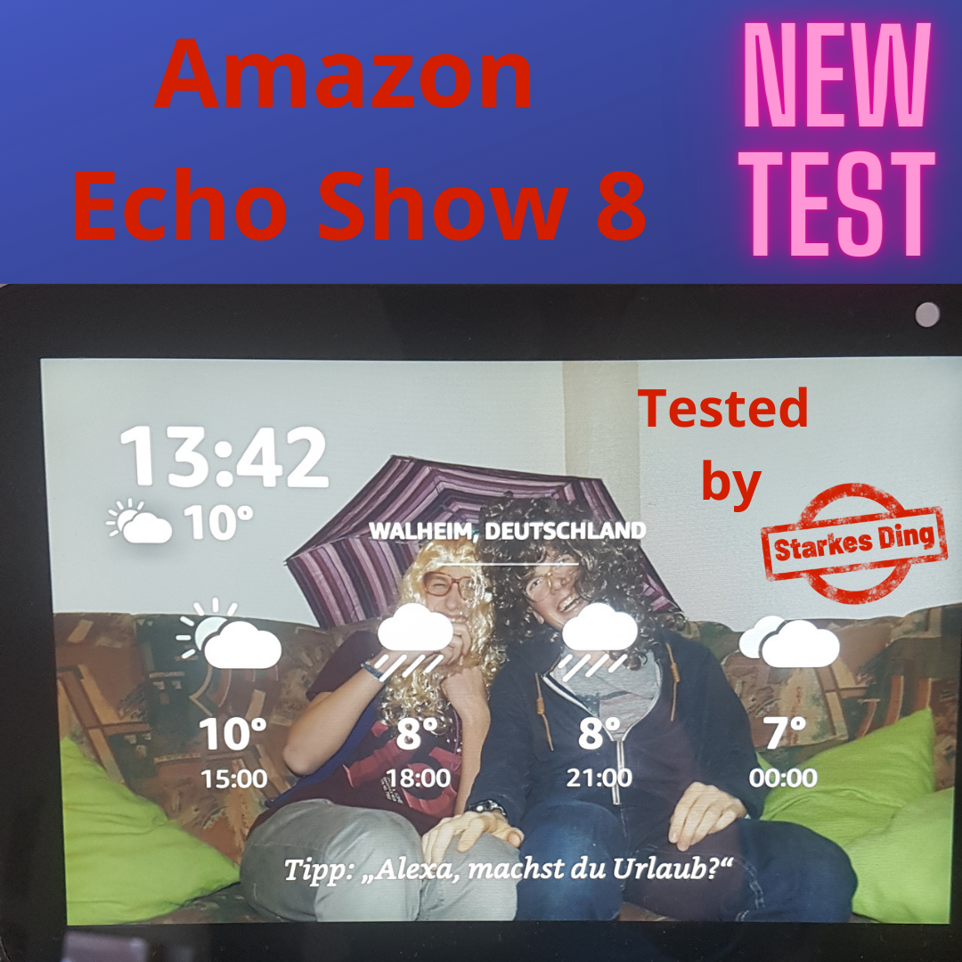 Amazon Echo Show 8 – Test
