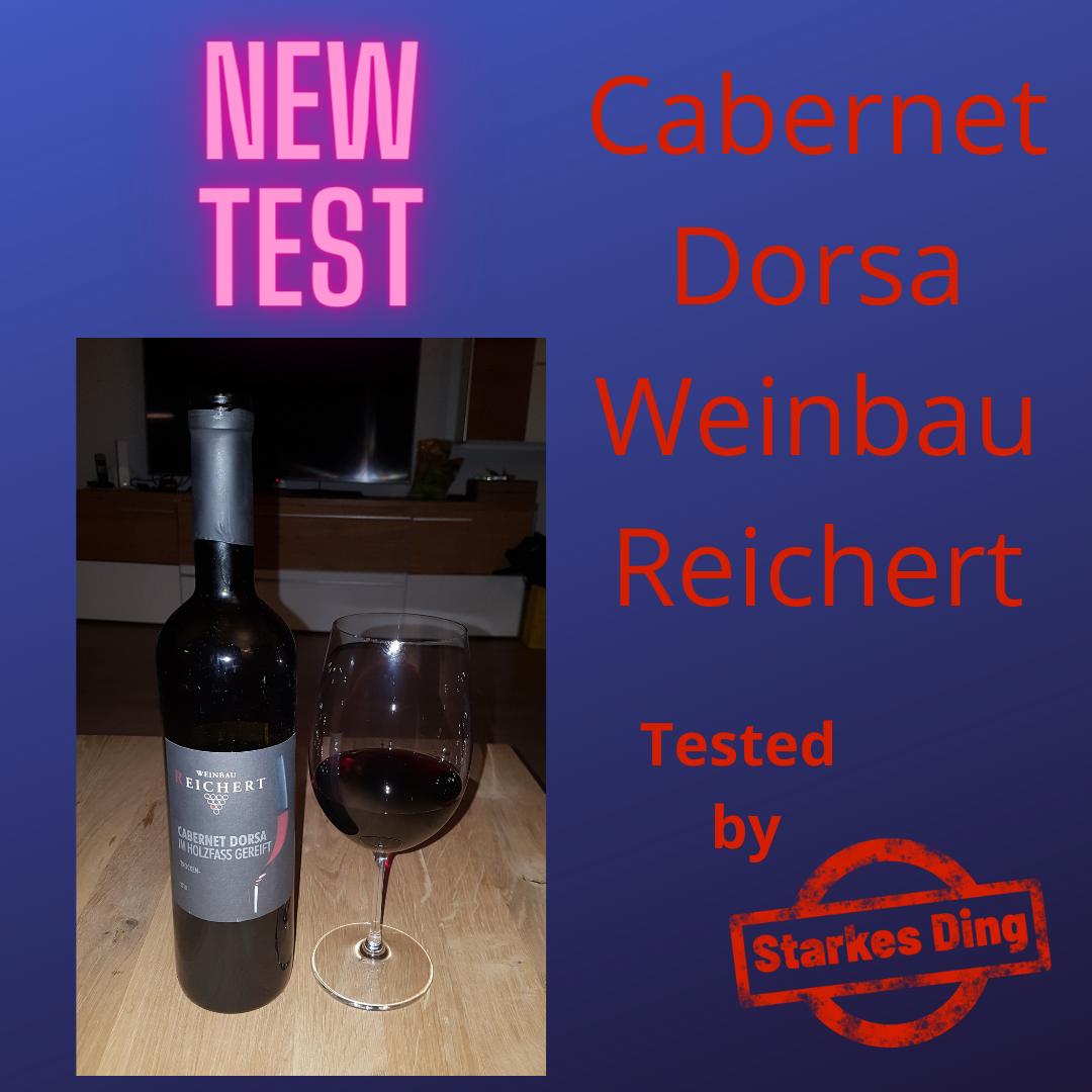 Cabernet Dorsa Reichert – stark
