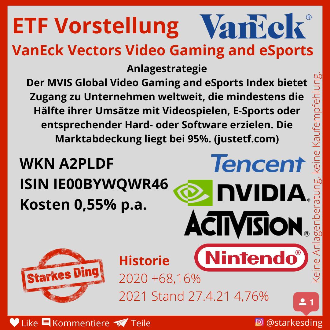 Read more about the article ETF für Gaming und E-Sport Aktien