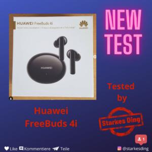 Huawei Freebuds 4i – Test