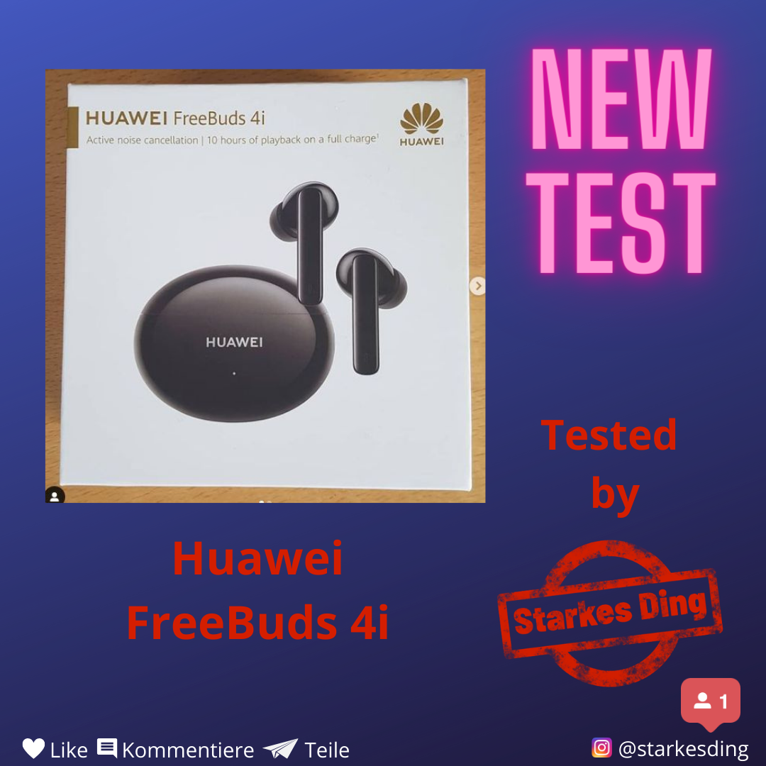 Read more about the article Huawei Freebuds 4i – Test
