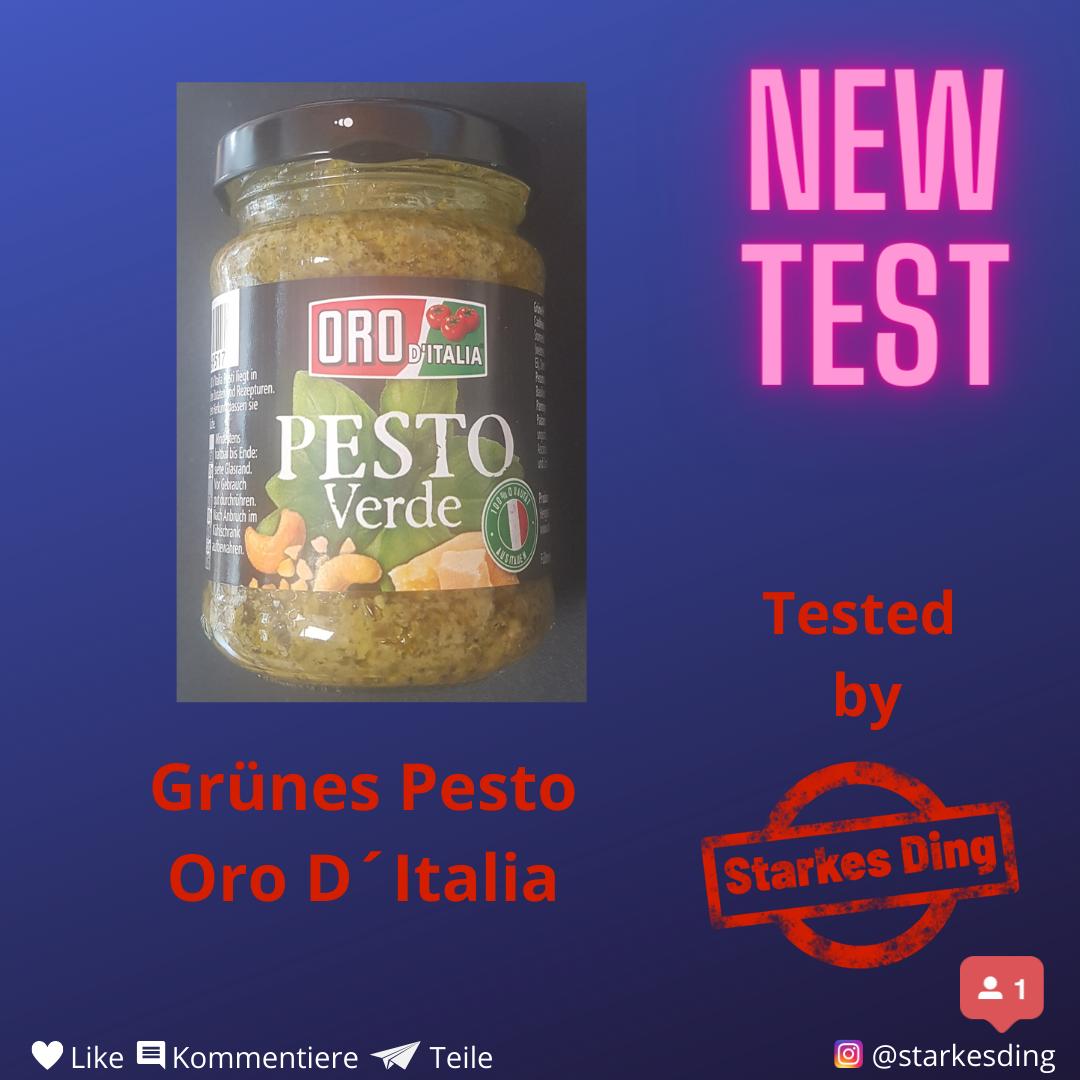 Read more about the article Pesto Verde von Oro D`Italia
