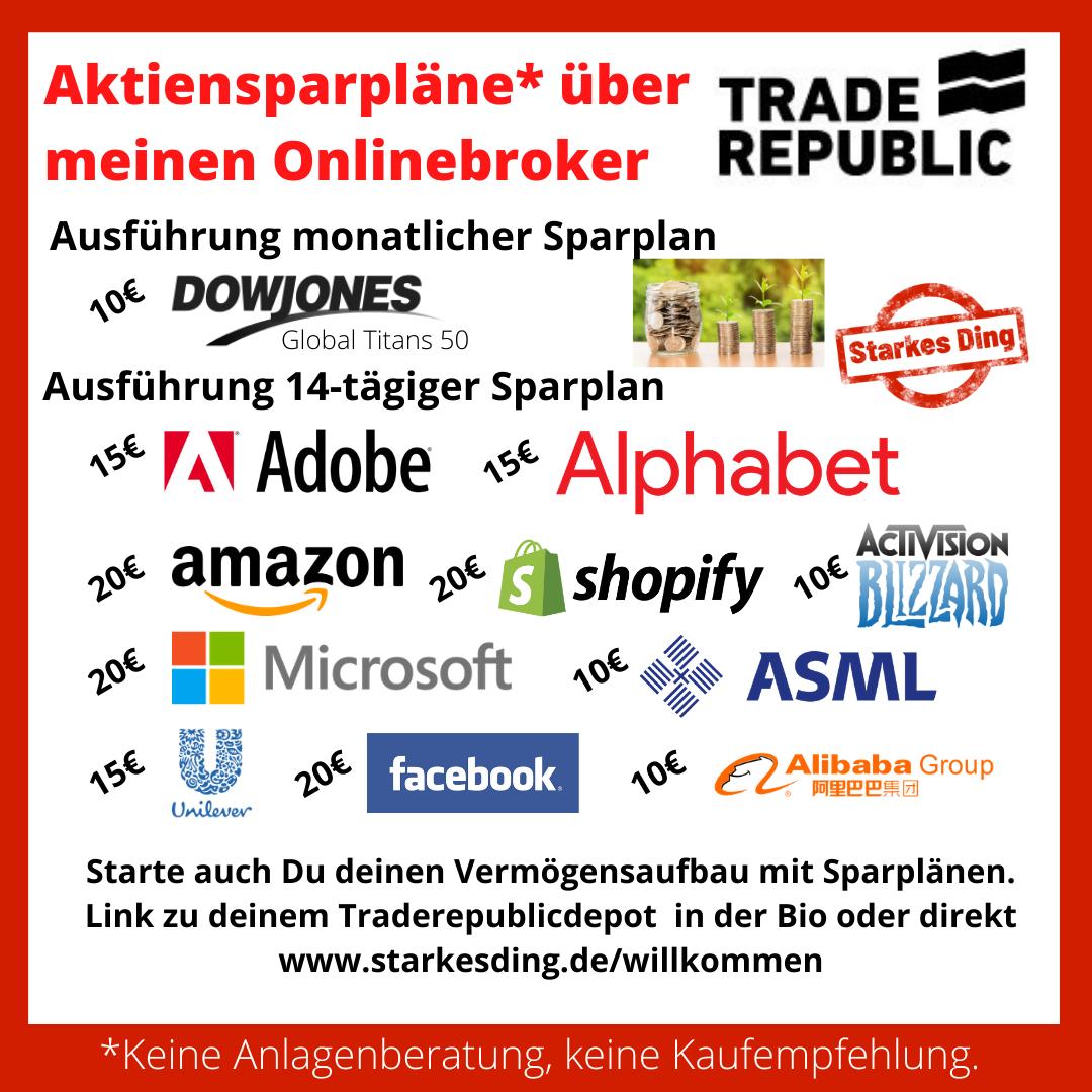 Read more about the article Aktiensparpläne aktualisiert