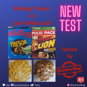Kellogs Tresor vs. Lion Wildcrush