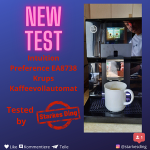 Read more about the article Intuition Preference EA8738 Krups Kaffeevollautomat