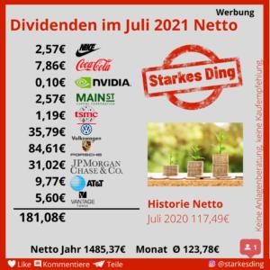 Read more about the article Dividenden im Juli – es wird